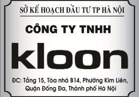 Công ty Kloon Việt Nam