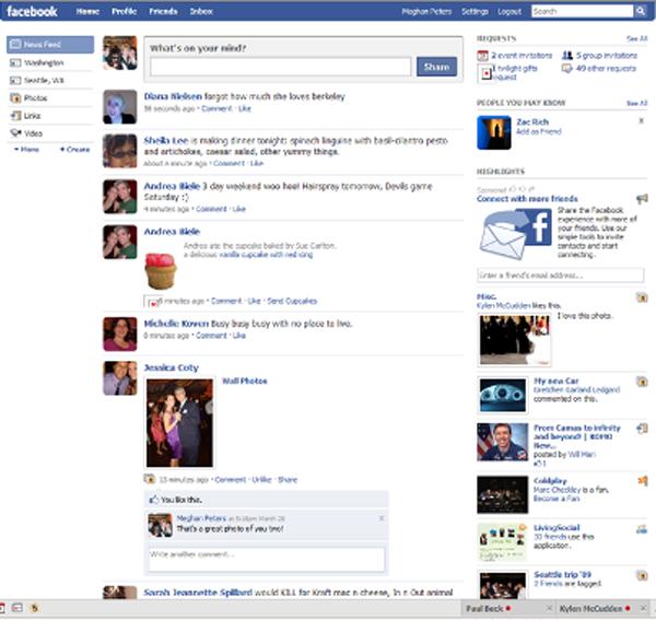 Tổng hợp những thay đổi giao diện của Facebook 2004-2012