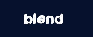 Bộ font chữ dành riêng để blend ảnh