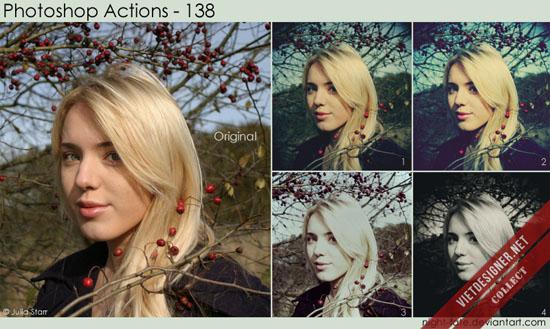 108 bộ Action blend màu tự động trong Photoshop