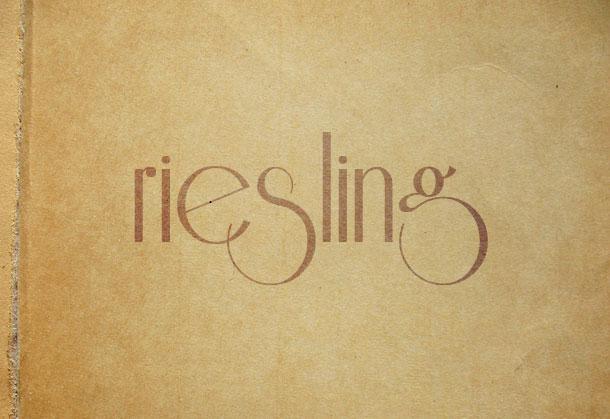 1. Riesling