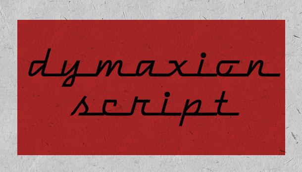17. Dymaxion Script