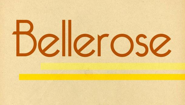 22. Bellerose
