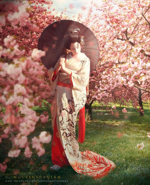 Tác phẩm lấy cảm hứng từ mùa xuân