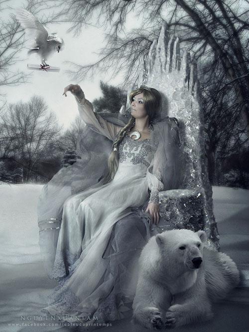 Tác phẩm lấy cảm hứng từ mùa đông