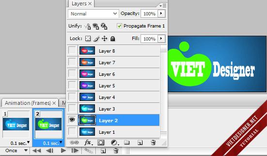 Mở và làm ảnh động với các phiên bản từ Photoshop CS3 trở lên