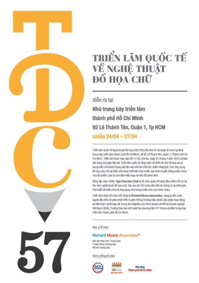 Triễn lãm quốc tế về nghệ thuật Đồ Họa Chữ tại TP.HCM