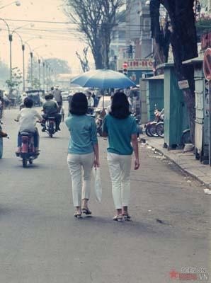 Tháng 11/1968. Những cô gái Sài Gòn.
