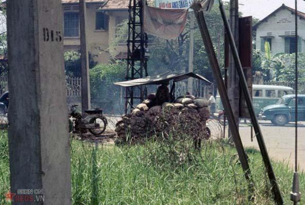 Tháng 10/1968. Một chốt canh gác của quân đội VNCH.