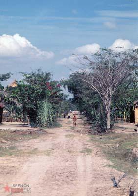 Tháng 1/1969. Một con đường ở Vĩnh Lộc.