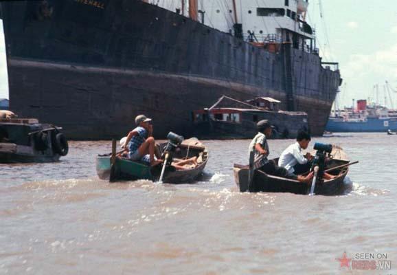 Tháng 2/1969. Trên sông Sài Gòn.