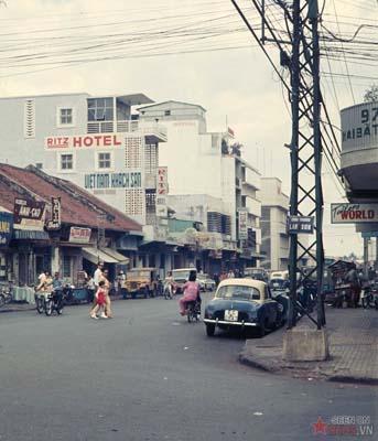 Tháng 3/1969. Nơi giao cắt giữa công trường Lam Sơn với đường Hai Bà Trưng.
