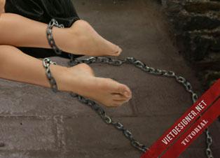 [Manip tutorial] Nàng tiên bé nhỏ bị giam cầm nơi ngục tù