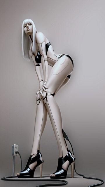 [18+] Biến hóa cô gái thật thành một con robot sexy