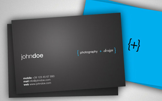 Business Card Concept 1