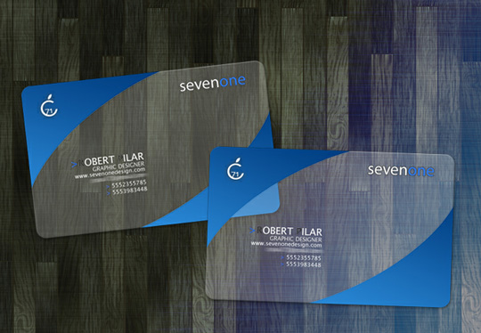 Sevenone Business Card