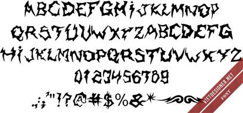 Shaman font