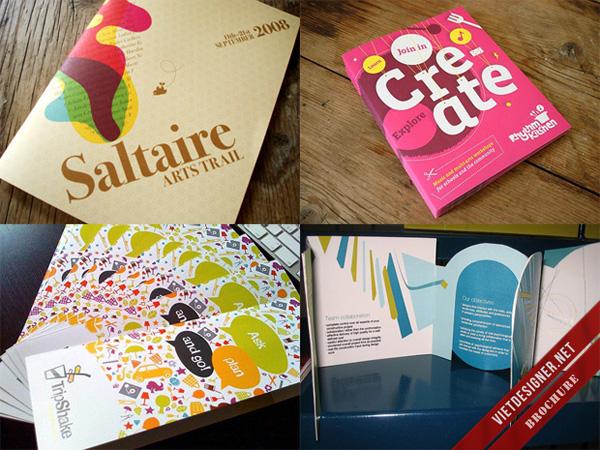 Brochure càng thiết kế ấn tượng, sẽ càng khiến khách hàng phải chú ý đến