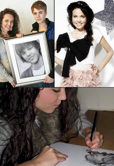 Rajacenna chụp chung cùng Justin Bieber