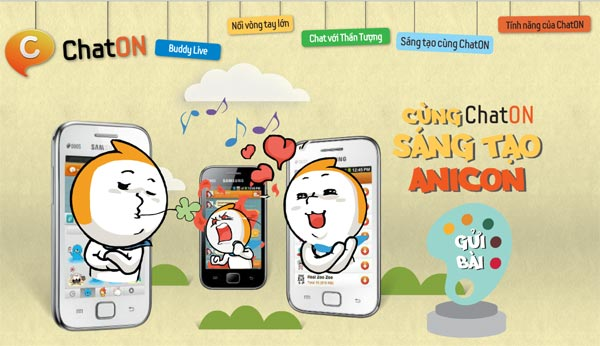 Tham gia cuộc thi thiết kế Anicon để nhận ngay quà smart phone
