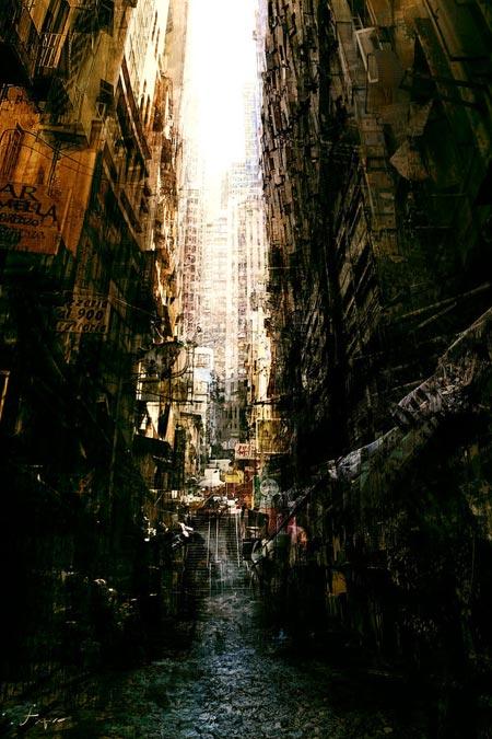 Tác phẩm Slumscraper- Tác phẩm được giải thưởng CGS Choice của CG Artist Trương Huyền Đức