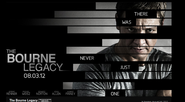 Poster của phim The Bourne Legacy