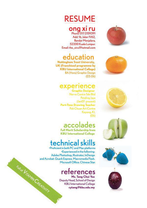 CV dành cho dân Design